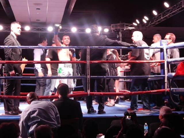 Erick Ituarte wins in Ontario 4/25/14