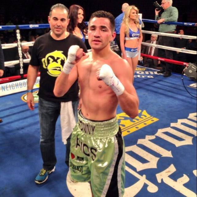Ronny Rios defeats Andrew Cancio on 4/14/14